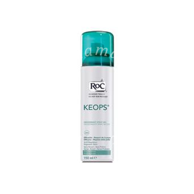 Roc keops deodorante spray secco - sudorazione intensa - efficace 24h 150ml