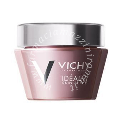 Vichy Idealia skin sleep balsamo gel rigenerante notte 50ml