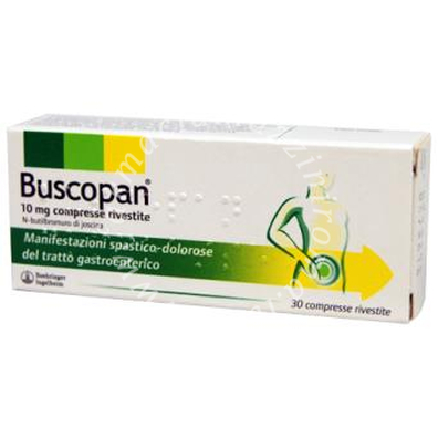 Buscopan 10Mg 30Cpr Riv