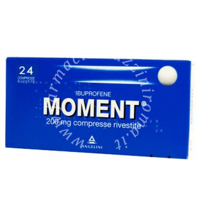 Moment 200mg antidolorifico 24 Compresse Rivestite